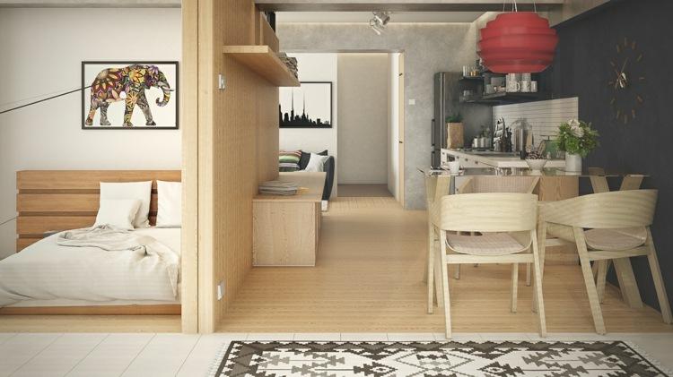 Einraumwohnung Einrichten   Zimmer Gestalten Mit Praktischen Wohnideen   Einraumwohnung  Einrichten