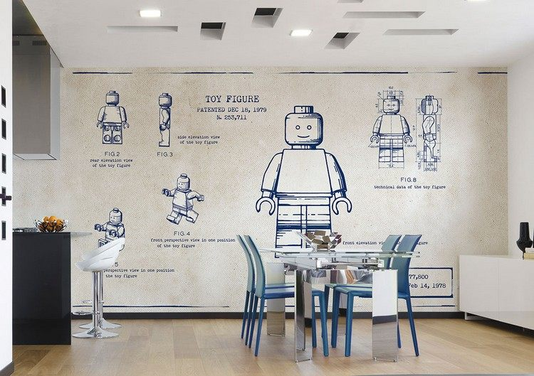 Tapeten Küche Abwaschbar | Washi Tape Wanddeko | Ideen.top