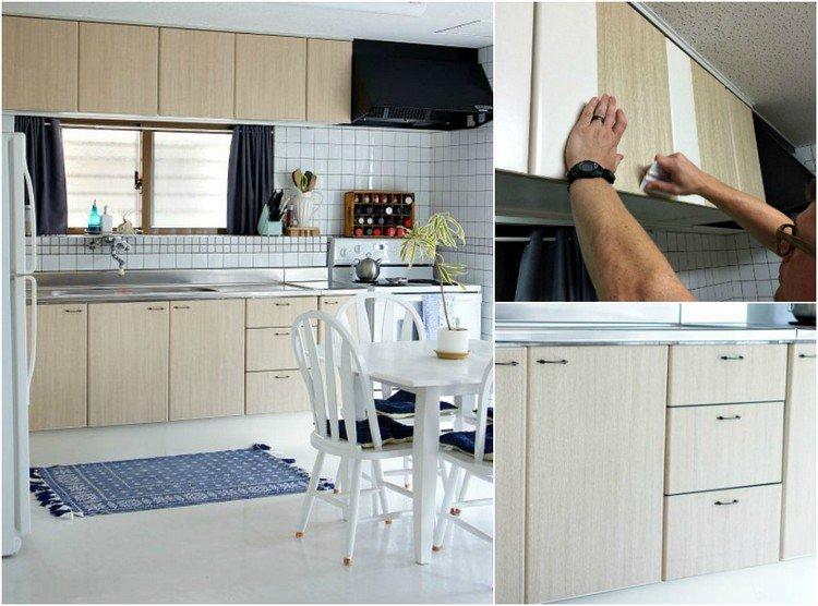 küchenfronten. küche günstig neu gestalten | selber machen ...