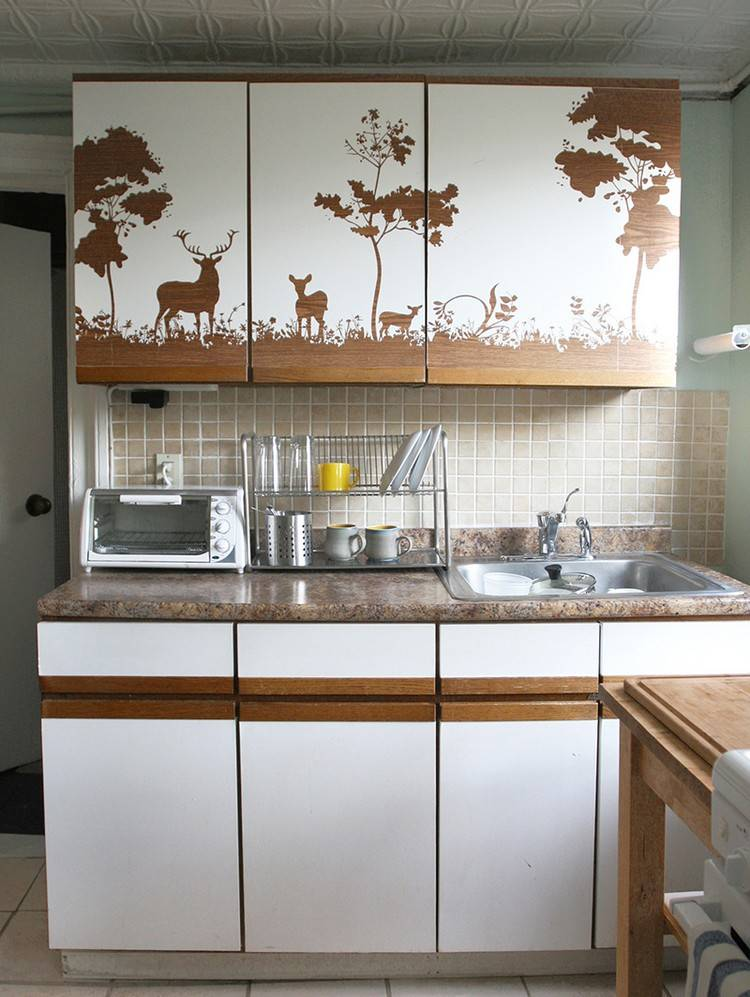 0 Wandklebefolie Küche