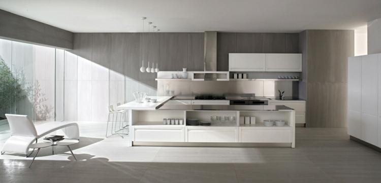Wandgestaltung in Betonoptik für ein trendiges und stilvolles - wandgestaltung kuche modern