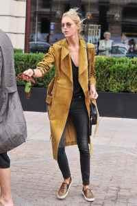 Damen Mantel Trend 'Wrap Coat' - 13 Outfits und Stylingtipps