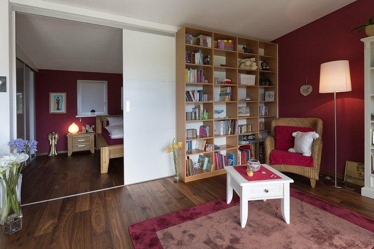 Clevere Raumgestaltung Ideen mit Schiebetüren als Raumteiler - raumgestaltung ideen