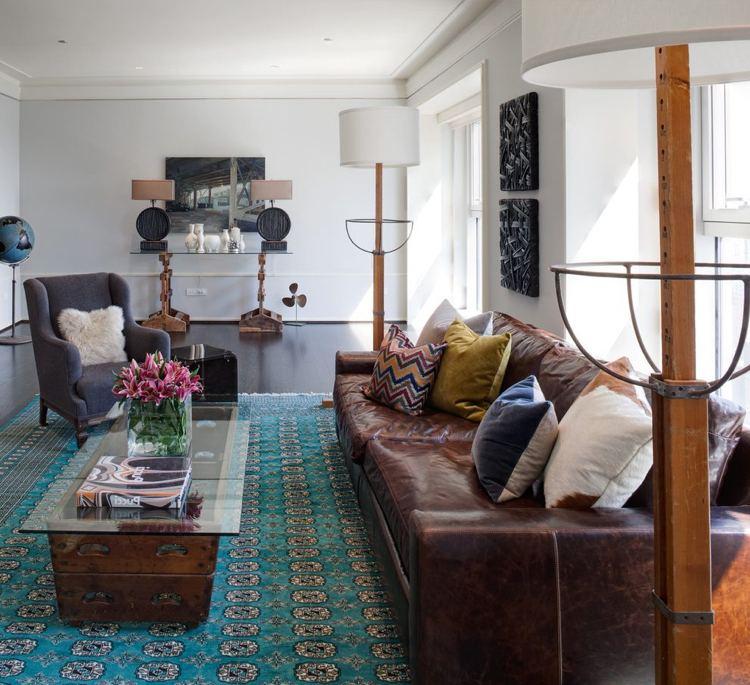 Wohnzimmer Sofa Anordnung