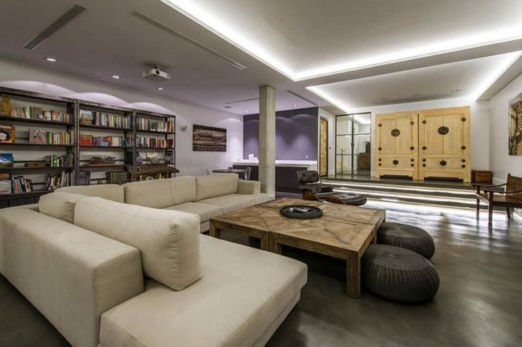 loft moebel chesterfield industriell design. Black Bedroom Furniture Sets. Home Design Ideas
