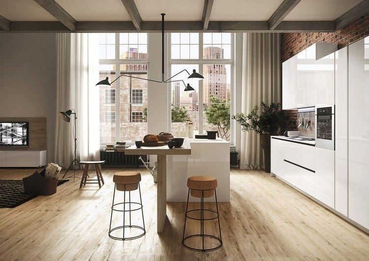 Einbauküchen design  Moderne Einbaukuechen Design Zeitlos - Design
