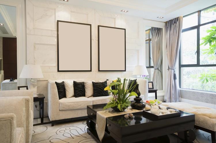 ▷ Einrichtungsbeispiele für Wohnzimmer - 30 schöne Ideen und Tipps - schwarz im esszimmer ideen einrichtung