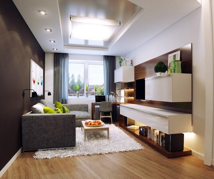 ▷ Einrichtungsbeispiele für Wohnzimmer - 30 schöne Ideen und Tipps - wohnung schon einrichten