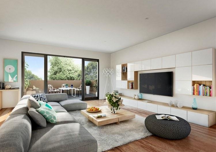 ▷ Einrichtungsbeispiele für Wohnzimmer - 30 schöne Ideen und Tipps - groses wohnzimmer einrichten
