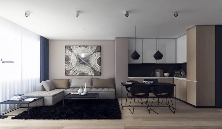 ▷ Einrichtungsbeispiele für Wohnzimmer - 30 schöne Ideen und Tipps - inneneinrichtungsideen wohnzimmer kuche