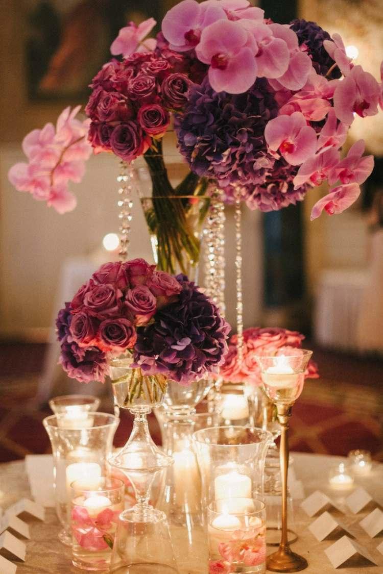 Glas Dekoration Hochzeit Glas Dekoriert