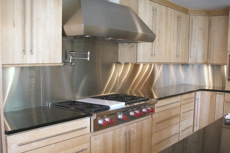 Wandpaneele für küche  30 Ideen Kuchenruckwand Gestaltung. 30 ideen kuchenruckwand ...