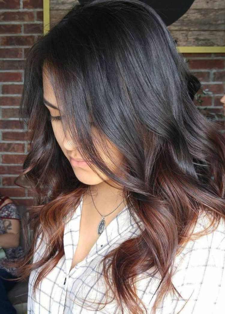 Welche Ombre Farbe Passt Zu Braun Haare Färben Technik Tipps