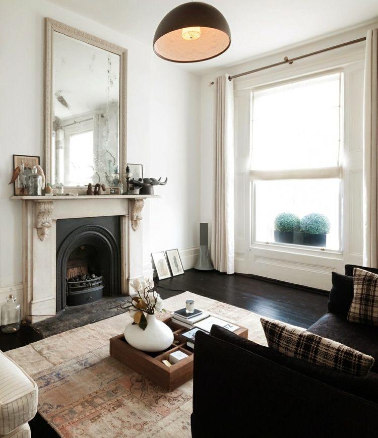 Spiegel im Wohnzimmer - Modelle und schöne Ideen für die Einrichtung - schone wohnzimmer