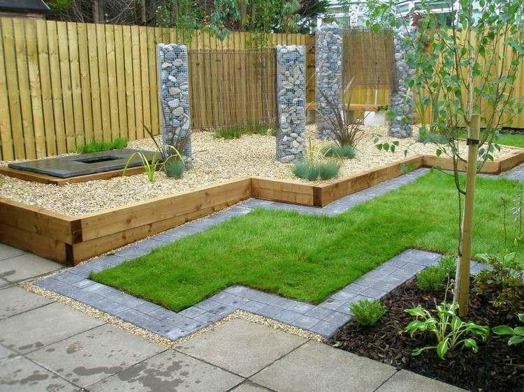 Reihenhausgarten gestalten - Ideen und Tipps für den rechteckigen - gartengestaltung tipps