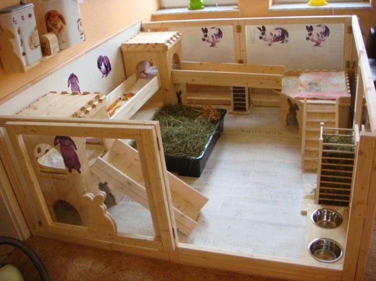 Kaninchengehege In Der Wohnung Ideen Und Tipps Zur Einrichtung. ⊚