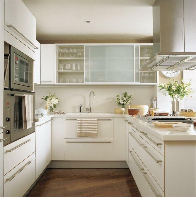 Kleine Küche Clever Einrichten   Varianten \ Tipps Für Beste   10  Einrichtungsideen Kleine Kuche