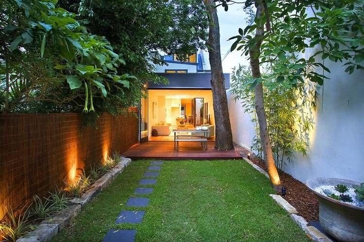 Reihenhausgarten gestalten - Ideen und Tipps für den rechteckigen - garten gestalten bilder