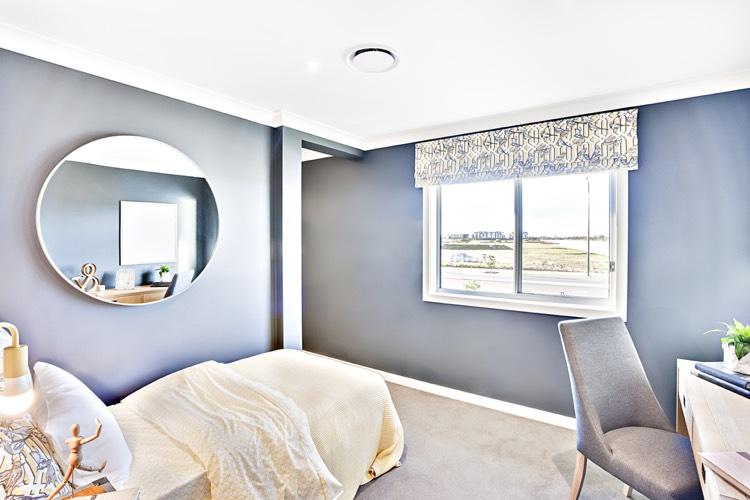 zimmer mit dachschrge optisch vergrern schne ideen dachschrge mit tapete fr dachschrge und. Black Bedroom Furniture Sets. Home Design Ideas