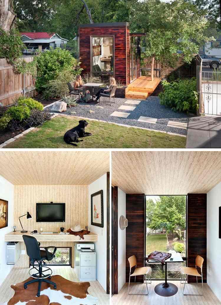 ... 14 Moderne Gartenhäuser, Wo Man In Ruhe Arbeiten Oder Wohnen Kann   Moderne  Gartenhuser Zum ...