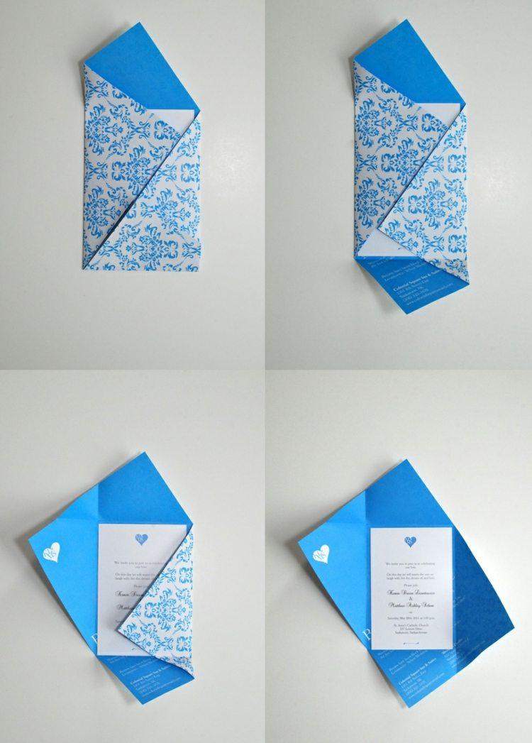 Briefumschlag Basteln In Verschiedenen Grossen Formen