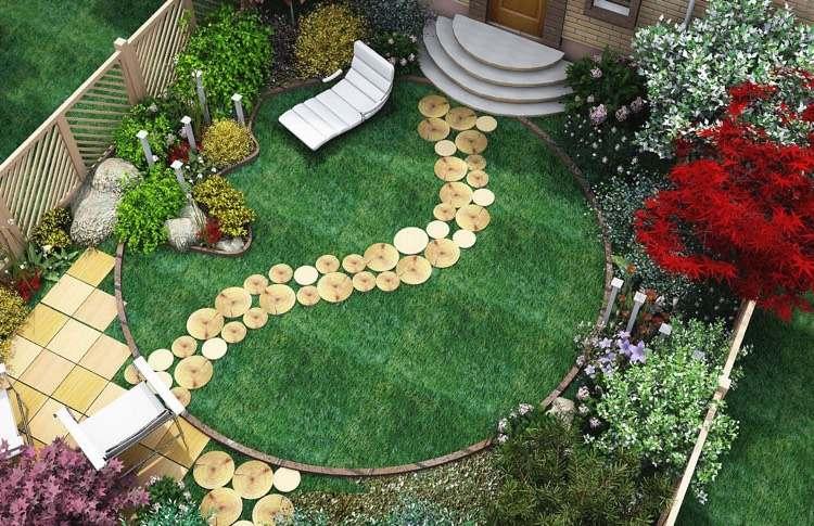 Kleinen Garten gestalten mit wenig Geld - Nützliche Tipps und - garten gestalten bilder
