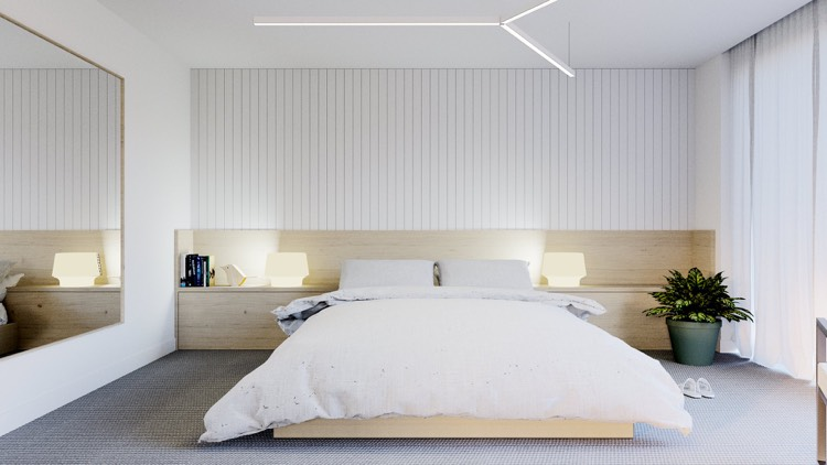 awesome minimalismus schlafzimmer in weis gallery house