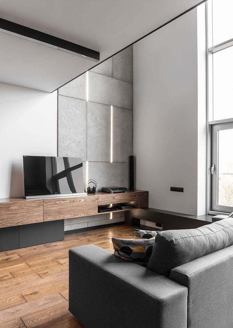 Einrichtungsideen Wohnzimmer Holz Orientalische Wanddeko