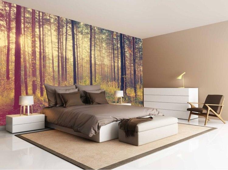 Bildtapeten Schlafzimmer | Fototapeten Schlafzimmer • Größe ...