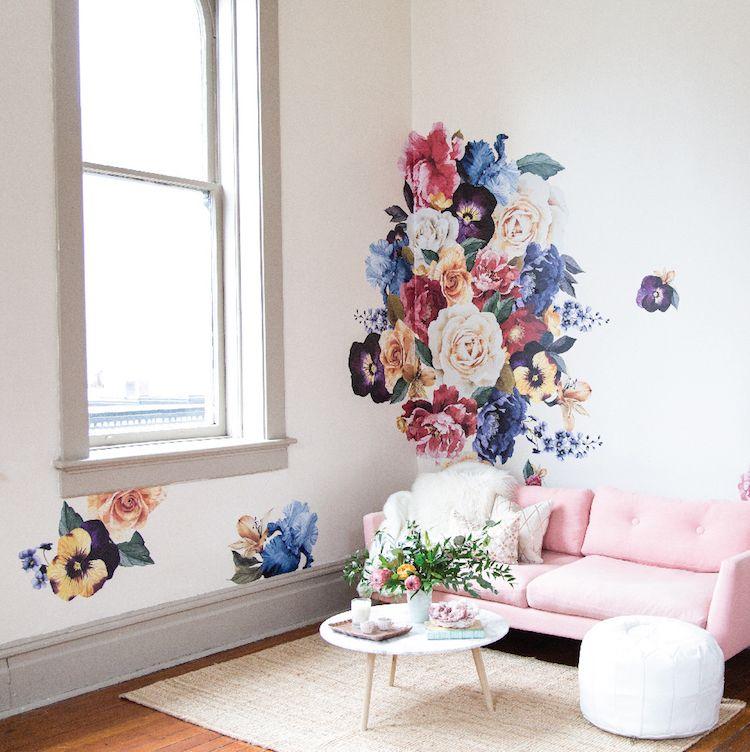 Kreative Wohnzimmergestaltung auf Budget - 16 Einrichtungstipps - kreative wandgestaltung