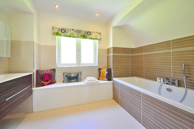 Badezimmer Mosaik Bordüre