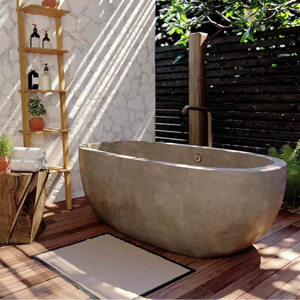 Outdoor Shower And Bathtub In The Garden Stylish Design Ideas In The Modern Country House Style Decor Object Your Daily Dose Of Best Home Decorating Ideas Interior Design Inspiration