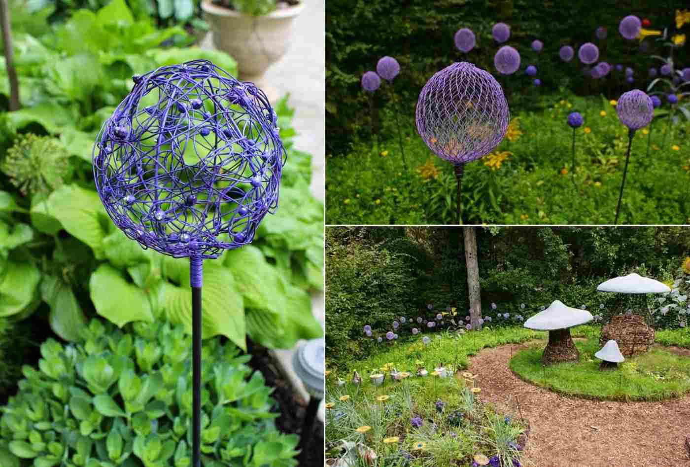 Diy Gartenstecker 11 Ideas For How To Make A Garden Deco In The Autumn Self