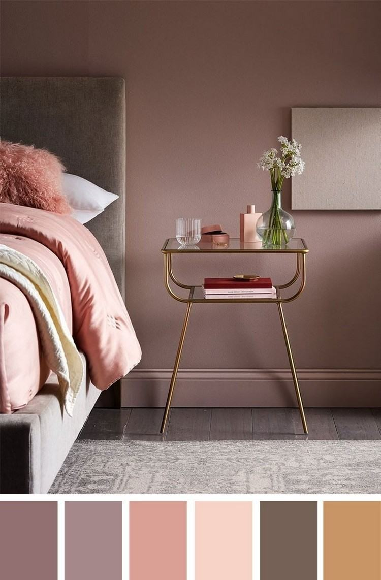 Farbe Mauve Taupe Designing The Bedroom With Purple Wall Paint: The Many Facets Of The Color - Decor Object | Your Daily Dose Of Best Home Decorating Ideas & Interior Design Inspiration