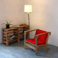 Meubles en palettes de bois ides dco et design