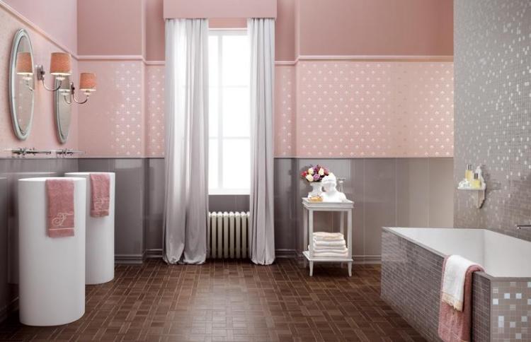 Carrelage de salle de bains 57 idées pour les murs et le sol