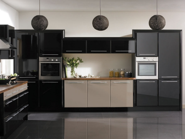 Background Dapur Cuisine Noire - 28 Idées De Design Contemporain Formidable