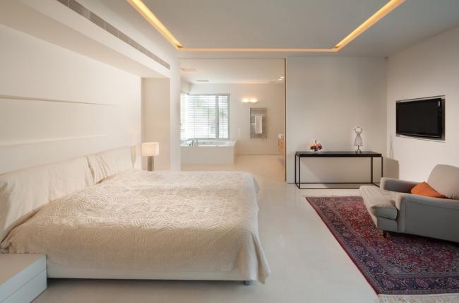 Plafond Moderne Dans La Chambre A Coucher Et Le Salon