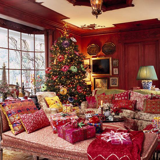 décoration du sapin de Noël harmonie-reste-intérieur