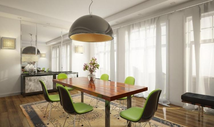 Salle à manger contemporaine - 111 idées de design réussi