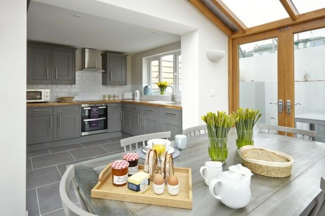 Salon salle a manger cuisine ouverte moderne - Design de cuisine - Cuisine Ouverte Sur Salle A Manger Et Salon