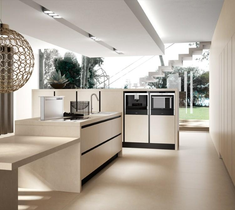 73 idées de cuisine moderne avec îlot, bar ou table à manger - Cuisine Moderne Avec Ilot