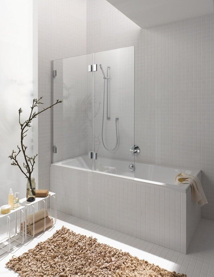 Petite salle de bains avec baignoire douche - 27 idées sympas - Salle De Bain Avec Douche Et Baignoire