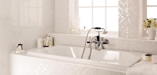 Carrelage mosaïque dans la salle de bains 30 idées modernes
