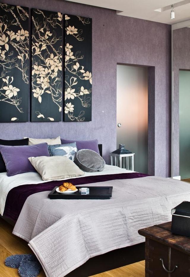 Peinture murale quelle couleur choisir chambre à coucher?