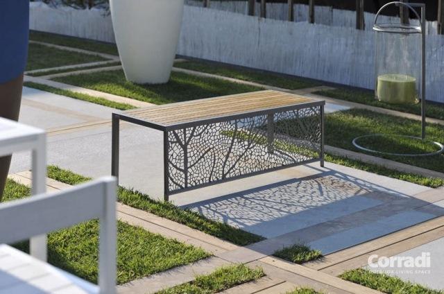 Banc De Jardin Moderne