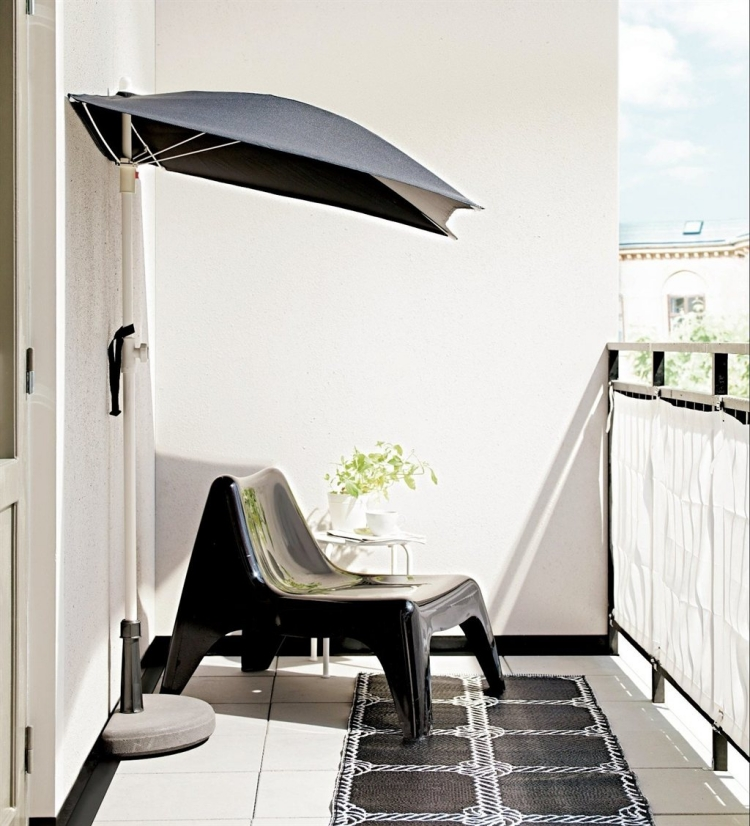 Parasol Suspendu Parasol De Balcon Et Terrasse–alternatives Nouvelles Flexibles