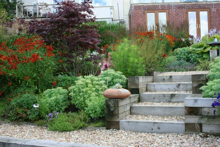 Schattiger Garten Ideen