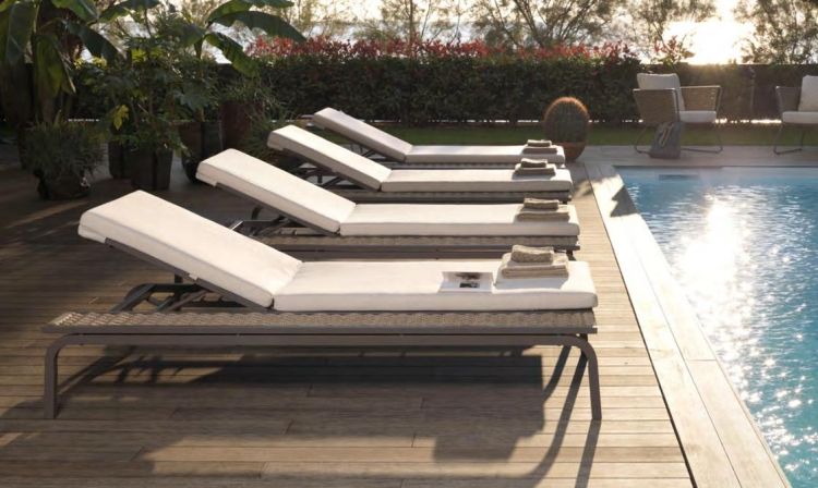 Mobilier Piscine Design Meubles Design: La Collection Portofino Par Roberti Rattan