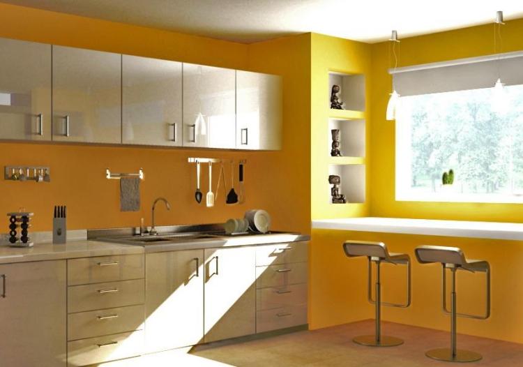 decoration cuisine peinture couleur
